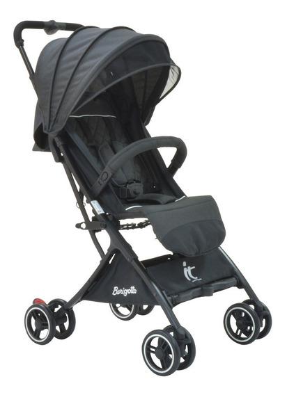 Carrinho De Bebê Burigotto It Gray - Black