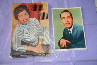 Revista Rara.album Do Rádio. 1957