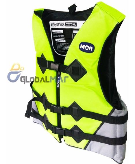 Colete Salva Vidas Verde Reforçado Flutuante Boia 50kg