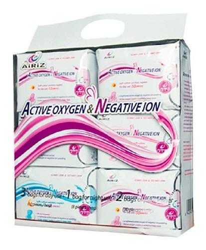 Toallas Higienicas Airiz Con Oxigeno Activo Ion Negativo