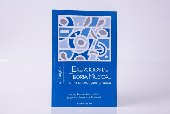 Livro Exercícios De Teoria Musical C/ Cd Marisa Ramires
