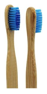 Cepillo De Dientes Bambú Madera Biodegradable Ecológico Moda