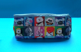 Cartuchera Triangular De K-pop Bts Bt21