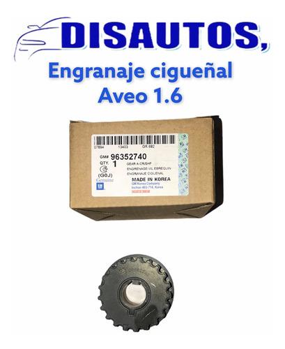 Engranaje De Cigüeñal De Aveo 1.6
