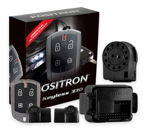 Alarme Para Carro Completo Positron Keyless Kl330