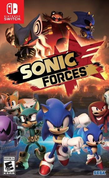 Sonic Forces - Semi Novo - Fisica - Switch - Gamercado