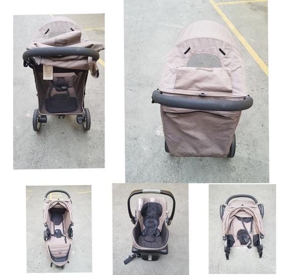 Carrinho E Bebê Conforto Importado Britax Bagile
