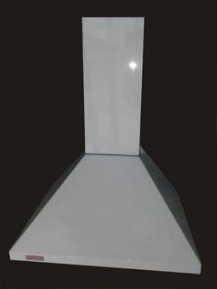 Campana 60 Cm,piramide Esmaltada Vacia Con Fondo Y Cubrecaño