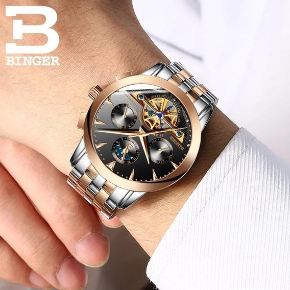 Relógio Automático Binger