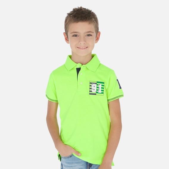 Playera Polo M/c Niño Talla 8 Años Pieza Única