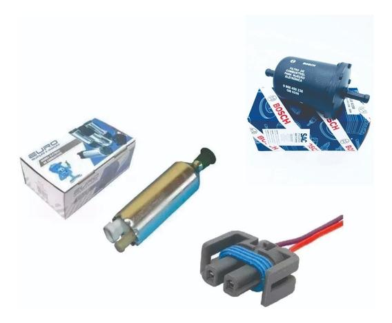 Bomba Eletrica Monza Kadett Externa Com Conector E Filtro