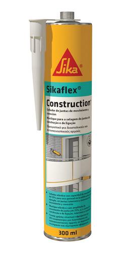 Imagem 1 de 1 de Selante De Pu Premium Sikaflex Construction+ Cinza Ct 300ml