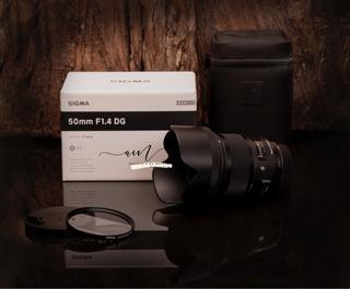 Sigma Art 50mm Para Nikon 1.4