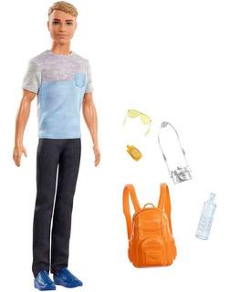 Set Muñeca Barbie Ken Mattel