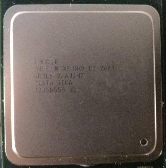 Cpu Intel Xeon E5 2689 Octa-core X79 Lga2011