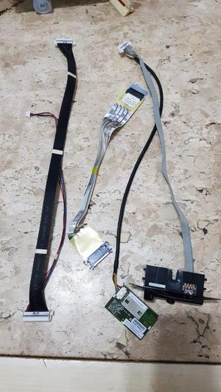 Cj. Cabos, Flats Lvds, Botões E Sensor Wi-fi Tv Lg 55uf8500