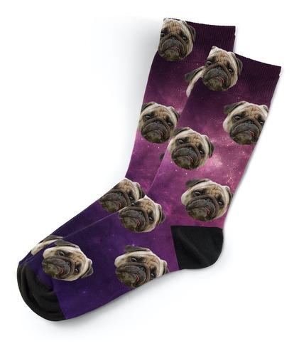 Imagen 1 de 2 de Calcetines Personalizados De Tus Mascotas