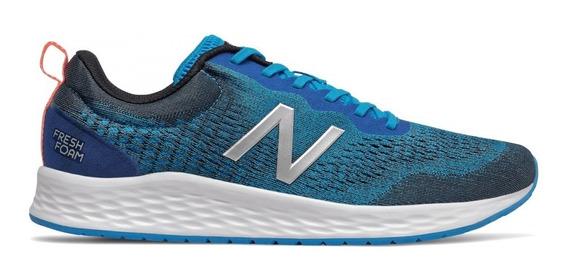 Zapatillas New Balance Running Hombre Mariscb Azul-cte Clic