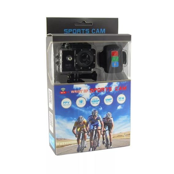 Câmera Esportiva Wi-fi Q2 Full Hd Prova De Água Com Controle