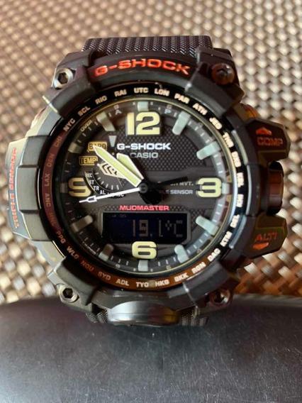 Relógio Casio G-shock Mudmaster Gwg-1000-1a Tough Solar Orig