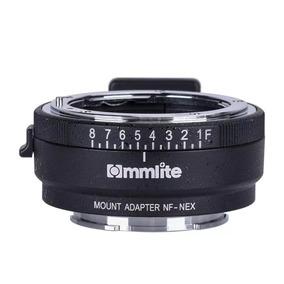 Adaptador Commlite Sony E-mount P/ Lente Nikon F