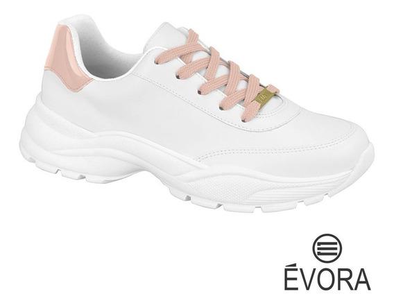 Tênis Feminino Chunky Sneaker Vizzano Branco / Rosa 1331101