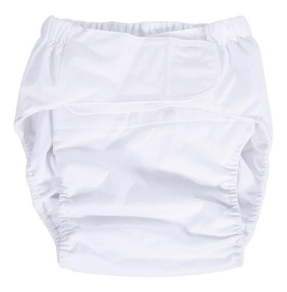 Pañal Blanco Lavable Adulto Piscina Reutilizables Inco