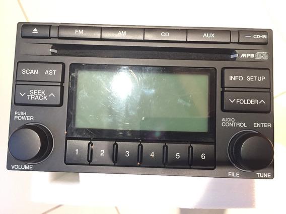 Cd Player Rádio Original Hyundai Tucson Mp3 Aux Am Fm
