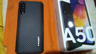 Samsung Galaxy A50 Duos 4/64 Gb + Micro Sd 256 Gb + Regalo.