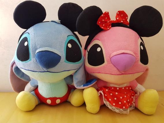 Pelúcia Stitch E Angel Da Disney De Tóquio