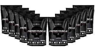10x Protein Muscle Refil 900g - Black Skull