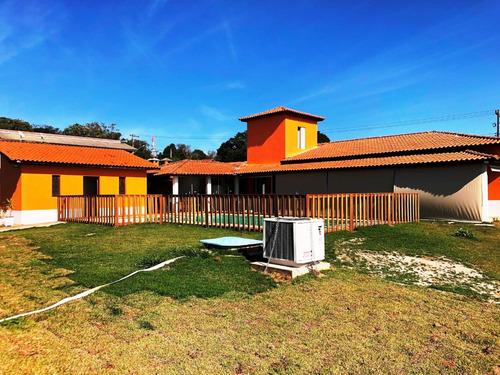 Imagem 1 de 14 de Chácara Em Condomínio Fechado De Alto Padrão  Cod:1116