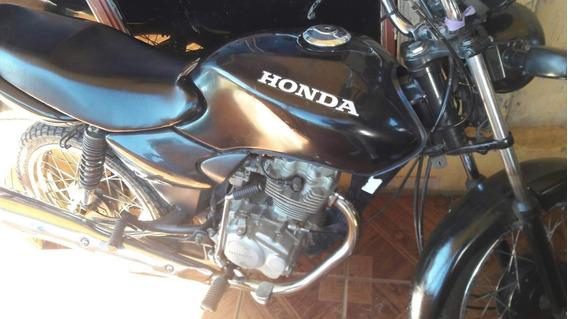 Honda Cg 125, Preta