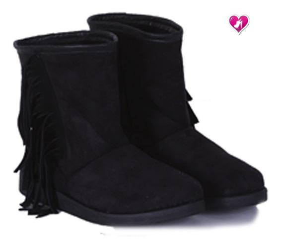 Bota Botineta Con Corderito Modelo Ice 4 De Shoes Bayres