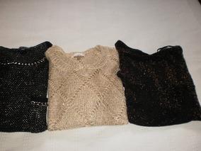 Conjunto De 3 Lindas Blusas Tam M - Importadas