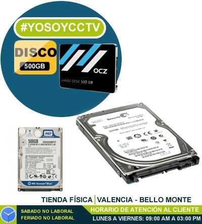 Disco Duro 500gb Para Dvr O Laptop