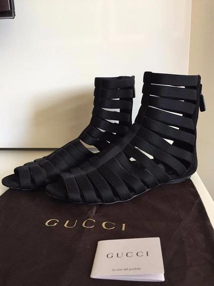 Sandália Gucci Isadora Stretchy Gladiator