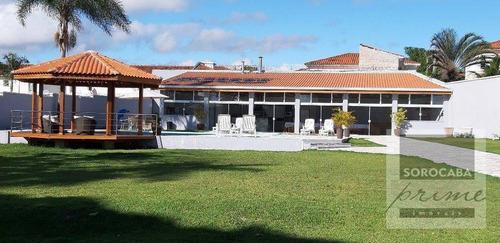 Casa Com 3 Dormitórios À Venda, 900 M² Por R$ 4.000.000,00 - Chácaras Residenciais Santa Maria - Votorantim/sp - Ca0072