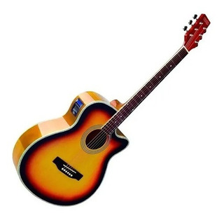 Guitarra Electroacustiva Texas Ag60-lc5-3ts Tex