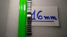 Casio Pulseira Original Aço Inox 16 Mm