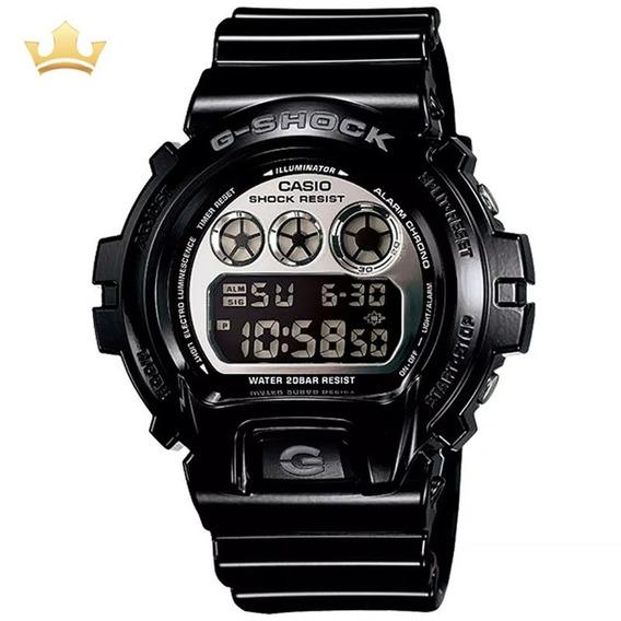 Relógio Casio G-shock Masculino Dw-6900nb-1dr Com Nf