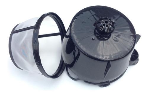 Portafiltro Y Filtro  Repuesto Cafetera Oster 12 Tazas 4401