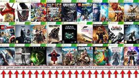 Xbox 360 Combo 27 Jogos Mídia Digital