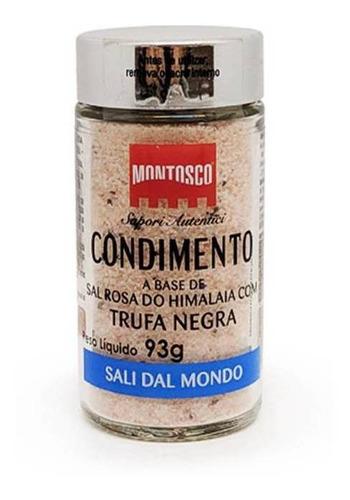 Sal Rosa Do Himalaia Com Trufa Negra Italiano Montosco 93g