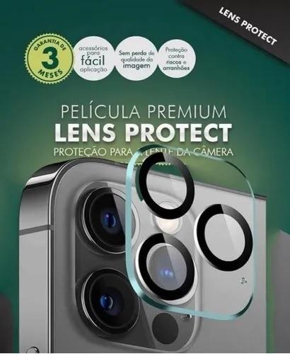 Imagem 1 de 3 de Película Hprime Lens Protect Pro P/ iPhone 12 Pro Max Top