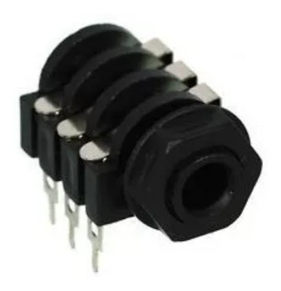 Conector Jack 6.5 Estereo Stereo Con Corte Para Impreso
