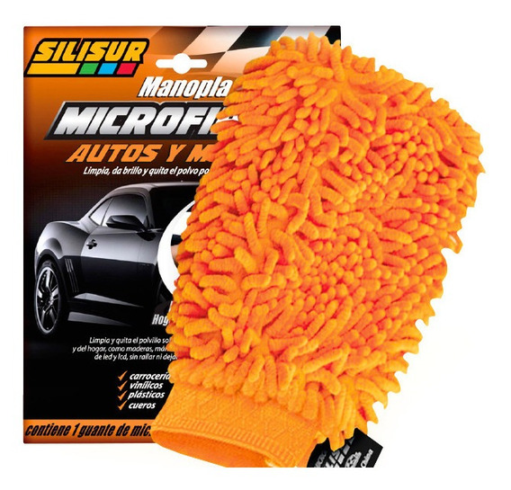 Silisur Manopla Microfibra Lava Autos