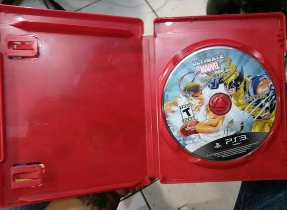 Jogo Marvel Vs Capcom 3 ( Original Midia Física )