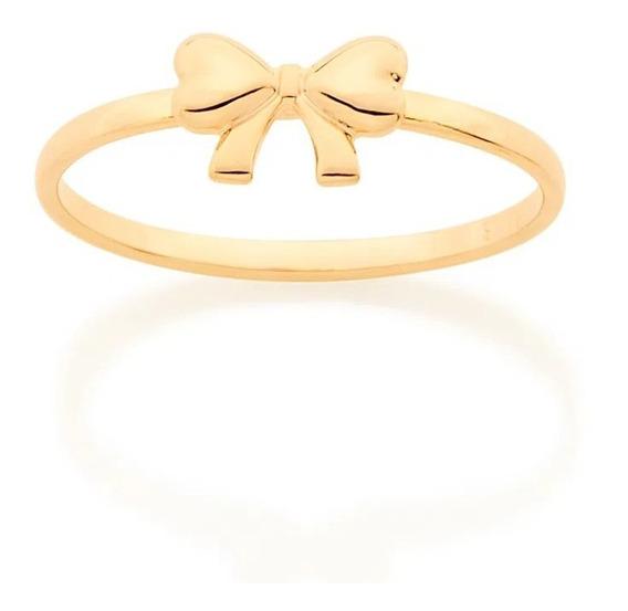 Anel Rommanel Skinny Ring Laço 512862