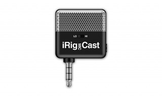 Irig Mic Cast Mircrófono Ultracompacto Para iPhone O Android